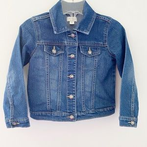 3x$25🌷The Children's Place Girl Jeans Jacket-5T